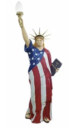 FREIHEISSTATUE LEUCHTE LADY LIBERTY LAMPE BIG USA Figur Stehlampe Stehleuchte Figuren Lampe Frauenfigur Frauenlampe Style Figur