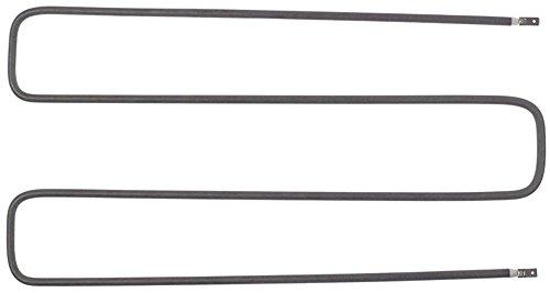 Rieber Heizkörper für BKW, STW, ZUB 833W 230V Länge 380mm Breite 204mm Anschluss Flachstecker 6,3mm Anschlussabstand 196mm