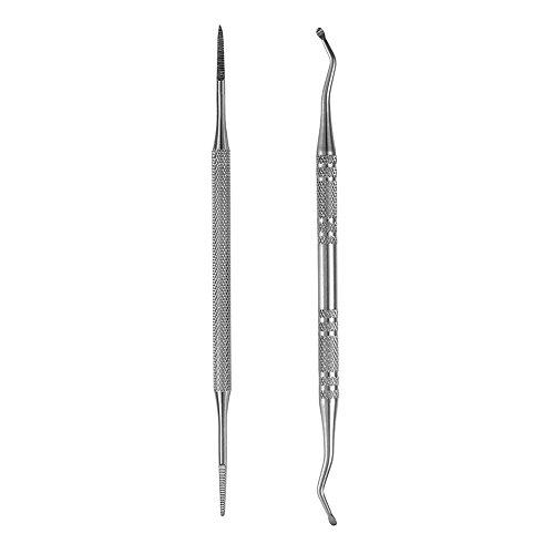 Bigwinner ingrédient onglet et élévateur à double face professionnel en acier inoxydable de qualité chirurgicale par E-LING