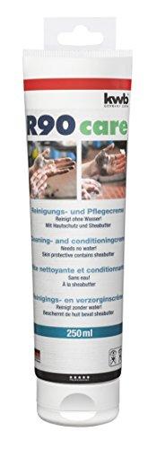 kwb Reinigungscreme R90 375625 (Paste zur Reinigung der Hände ohne Wasser, 250 ml in Kunststofftube) - Shea-butter-formel
