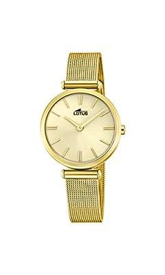 Lotus Watches Reloj Análogo clásico para Mujer de Cuarzo con Correa en Acero Inoxidable 18539/1 de Lotus Watches