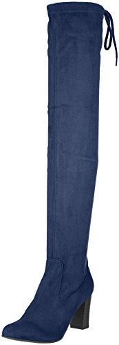 Caprice 25504, Stivali Donna Blu (Ocean Stretch)