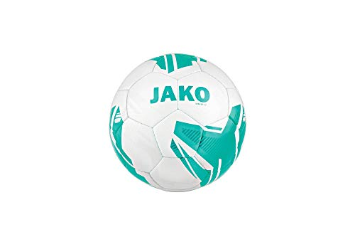 JAKO Lightball Striker 2.0 MS Fußbälle, weiß/Türkis-350g, 5