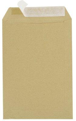 majuscule-enveloppes-kraft-90g-16x23-bandes-detachables-ab-paquet-de-50