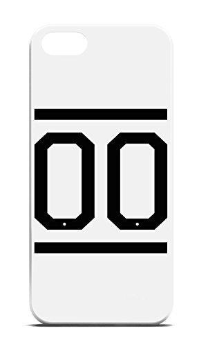 Zero White 00 Team Brooklyn für iPhone 6 Hipster Hülle Cover Case Bumper Schutzhülle Schale Swag Loomiloo® Weiß