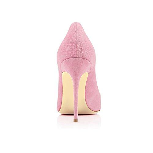 EDEFS - Escarpins Femme - Sexy Sexy Talon Aiguille - Stiletto Soir Fête Chaussures pink