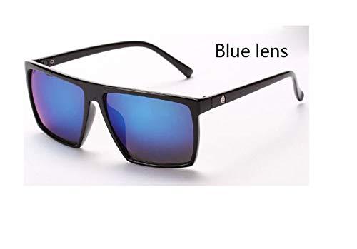 AOCCK Sonnenbrillen,Brillen, Classic Square Sunglasses Men Women Fashion Brand Designer Vintage Square Driving Sun Glasses For Man Women Male UV400 Eyewear Skull 8921 C3