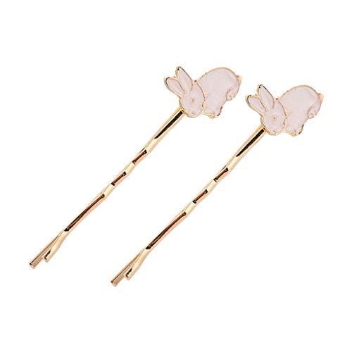 Kuangkk Haarspange für Frauen und Mädchen, mit einem Wort, niedliche Cartoon-Tier-Pinguin-Igel-Haarspange mit Glitzer, Öl und Metall