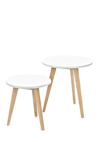WINK DESIGN -Oslo - pièce de 2 chaises Blanches