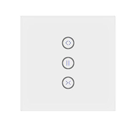 Jinvoo WiFi Curtain Switch, controlador Roller Shutter Switch, trabaja con Alexa Echo...