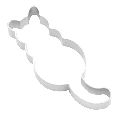 LQZ Ausstechform Katze Ausstechformen Ausstecher Keksausstecher Edelstahl Backen Fondant Cookie Keks - 2