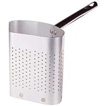Pentole Agnelli Professional Aluminium 3 Mm. 3-Segment Colander, Diameter 38 cm, Silver