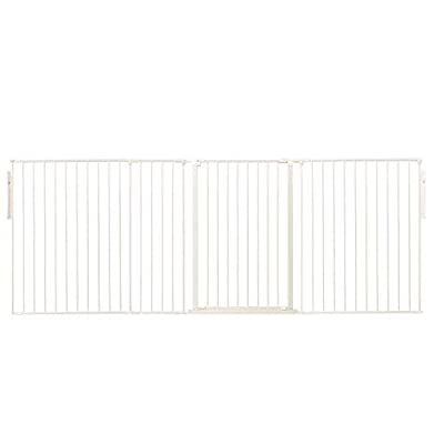 Safetots Extra Tall Room Divider All Widths (White, Upto 262cm)