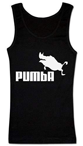 Finest Prints Brand Parody Lion Hog Pig Damen Tank Top Small - Hogs Out T-shirt