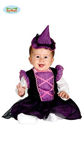 süße Kleine Baby Hexe Kostüm für Mädchen Gr. 86-98, Größe:86/92