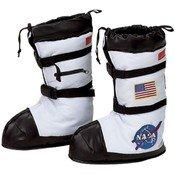 Costume Boots: Astronaut- Child Medium