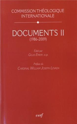 Documents : Volume 2 (1986-2009)