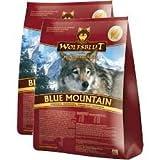 """'Lupo Sangue Blue Mountain con Wild e foresta frutta """"Confezione risparmio 2X 2kg"""