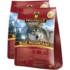 """Wolfsblut Blue Mountain mit Wild und Waldfrüchten """"SPARPACK"""" 2x2 Kg"""