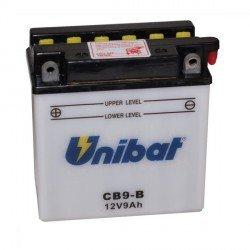 Unibat-Batteria per moto 12 V CB9-B/B (SM-YB9 CB9-B DB9-B GB9-B)