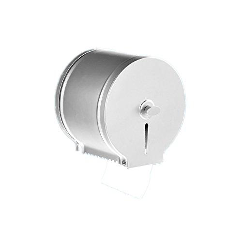 Guojunyan Dispensador de Papel higiénico Comercial Dispensador de Montaje en Pared Soporte de Papel higiénico para baño a Prueba de óxido, Aluminio