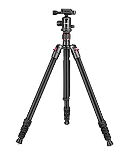 Digitek Professional DV Tripod Cum Monopod Tripods/Tripod Heads & Monopods with Great Support and Stability for Professional Videography. (Maximum Load Upto 7kgs) (DTR 500 BH)
