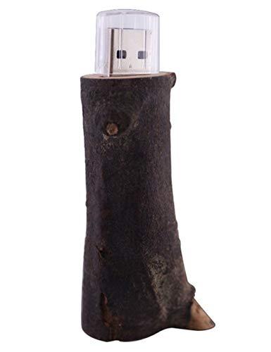 USB-Stick Flash Drive Kreativ Wurzel U Festplatte 4/8/16/32/64 / 128GB HochgeschwindigkeitsüBertragung 65 * 25 * 30 Mm Klein Und Tragbar Computer Auto Mit Stereoanlage (32GB)