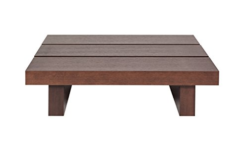 TemaHome Tokyo Table Basse, Bois, Chocolat, 94 x 94 x 35 cm