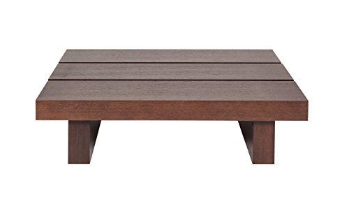 TemaHome Tokyo Table Basse, Bois, Chocolat, 94 x 94 x 35 cm