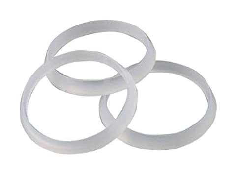 LDR 506 6500 Beveled Polyethylene Slip Joint Washer, 1-1/4-Inch, 3-Piece by LDR Industries
