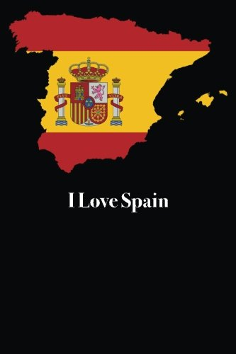 i-love-spain-blank-lined-journal-6x9-118-pages-travel-notebooks