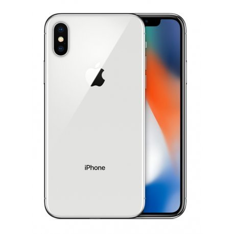 "Apple iPhone X Single SIM 4G 256GB Silver - smartphones (14.7 cm (5.8""), 256 GB, 12 MP, iOS, 11, Silver)"