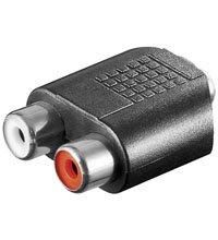 wentronic-35mm-rca-adapter-2x-rca-35mm-schwarz-kabelschnittstellen-adapter-2x-rca-35mm-weiblich-weib