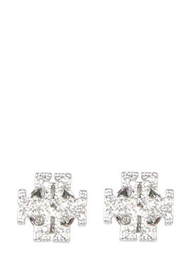 Tory Burch Damen 53423042 Silber Metall Ohrringe