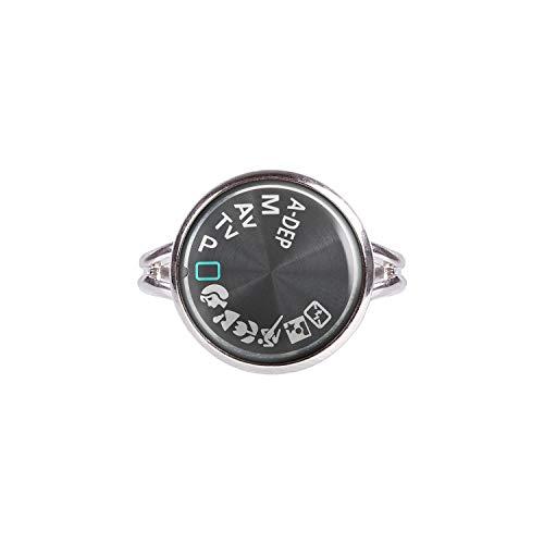 Mylery Ring mit Motiv Digital-Kamera DSLR Einstell-Rad Symbole silber 14mm Canon Reflex Lens