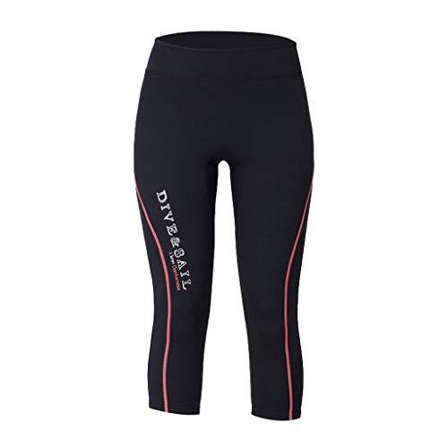 Tubayia Herren Damen 1,5 mm Neopren Hose Neoprenanzug Länge Hosen für Tauchen Surfen Kajak Kanu Wasser Sport