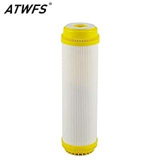 Tyro ATWFS Wasserenthärtungsfilter aus Harz, 25,4 cm, entfernt effektiv Entkalkungen und Starke alkalische Wasserreiniger, Filterkartusche