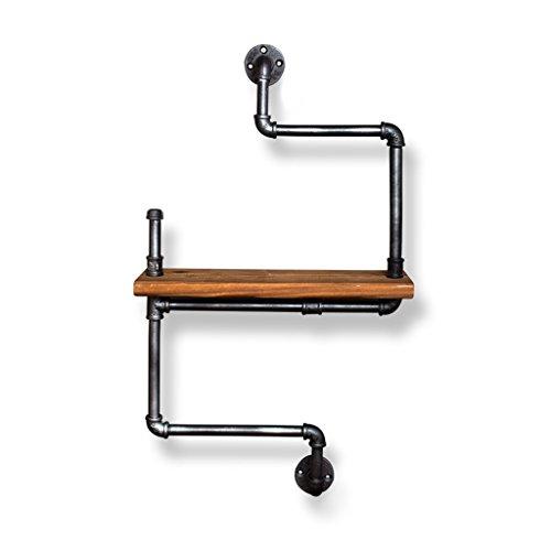 Schlauch-messer (AJZGF Regale Regale Multi - Zweck Wand Eisen Massivholz Partition Schlauch Lagerregale Regal ( Farbe : A ))
