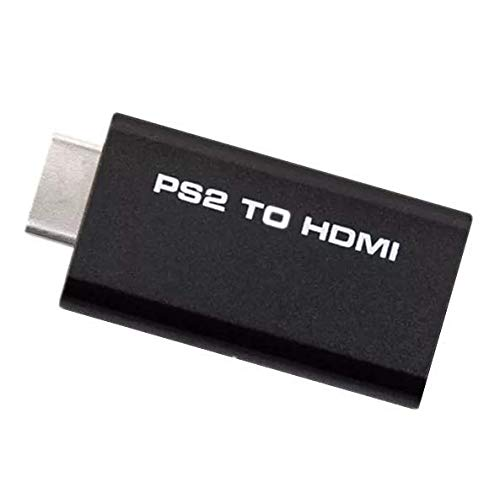 Goldoars PS2 HDMI Audio Video Konverter Adapter w / 3,5 mm Audio Ausgang HDTV Monitor