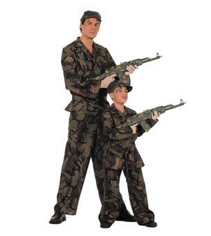 Preisvergleich Produktbild Wilbers Federbein Herren EU 58 / UK und US 48 Soldier Kostüm