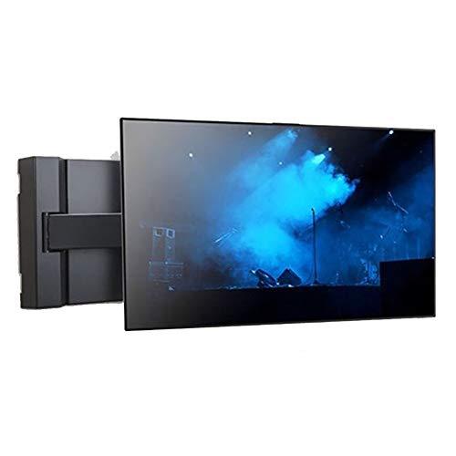 Exing TV Wall Bracket, Doppel-Arm-Dreh-FotalFeature SPCC TV Universal Stand Rack 32-70 Zoll TV Universal Cantilever Rotation Wall Bracket mit Draht-Storage-Box Design -