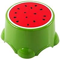 Preisvergleich für fruit stool Plastikhocker Fruchthocker für Kinderhocker Niedlicher Schemel Babykarikatur-Schemel ändern Schuhe Schemelwassermelonemodellierungs-Schemel Verdickungsbank-Wohnzimmerschlafzimmerstudie