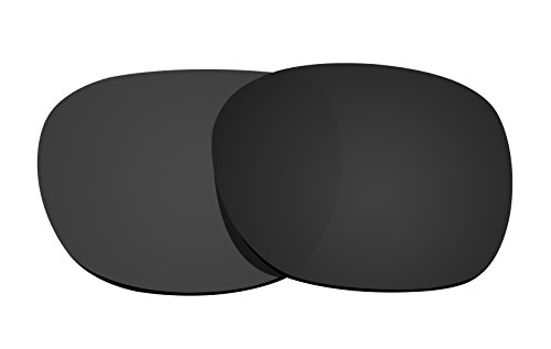 Schwarz Polarisierte Ersatz Gläser für Oakley Garage Rock Sonnenbrille -
