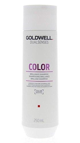 2er Color Brilliance Shampoo Dualsenses Goldwell Farbpflege für feines bis normales Haar 250 ml -