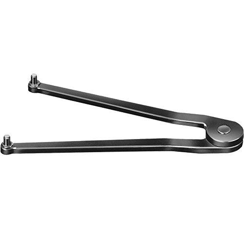 AMF 40477 Stirnlochschlüssel, Verstellbereich 7 mm-40 mm, Zapfen Durchmesser 1.5 mm