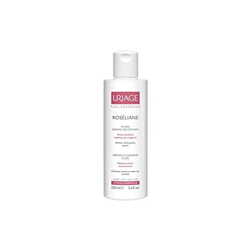 Fluid Uriage Roséliane Anti-Rougeurs Dermo-Nettoyante (250ml) (Pack de 2)