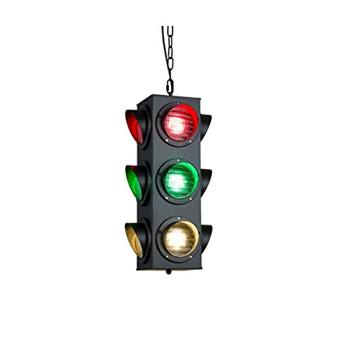 Chandelier .H HCJ Red Light Kronleuchter, Loft 9 Kopf Retro Kronleuchter Bar Snooker Hall Ice Rink Kronleuchter Zufriedenheit (Farbe : A) (Ringen Rink)