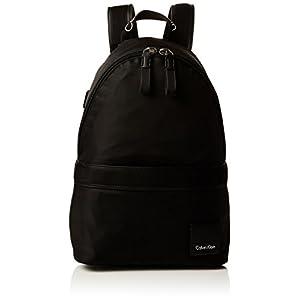 31t jZiLDQL. SS300  - Calvin Klein - Fluid Backpack, Mochilas Mujer, Negro (Black), 18x40x30 cm (B x H T)
