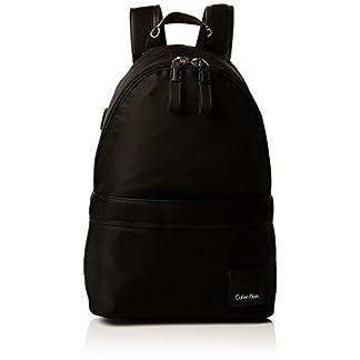 Calvin Klein – Fluid Backpack, Mochilas Mujer, Negro (Black), 18x40x30 cm (B x H T)