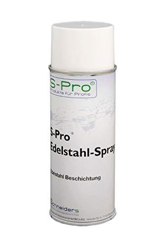 S-Pro Edelstahl-Spray Korrosionsschutz und Kunststoffbeschichtung 400ml Dose